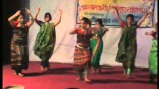 Chander hatt children theatre Dance Drama Nakshi Kather Mat Clip 3