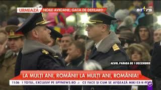 Klaus Iohannis, prezent la parada militară. Onoruri militare pentru președintele României