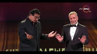 """مهرجان القاهرة السينمائي -  كوميديا """" شريف منير"""" .. بقالي سنتين مبشتغلش قولت أعزف درامز 😂"""