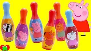 Peppa Pig Bowling Surprises