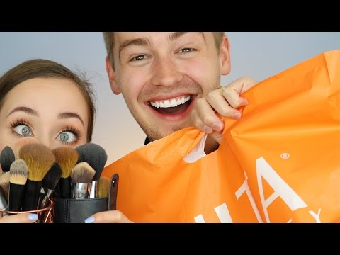 HUSBAND BUYS MY MAKEUP AND SLAYS ALLIE G BEAUTY