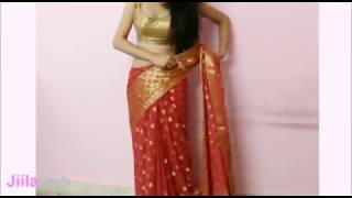 Artistic Saree Wearing Method:How To Wrap Indian Ethnic Sari(Steps)