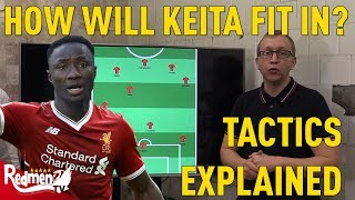 How Will Keita Fit In At Liverpool?   Tactics Explained