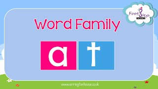 FootStep Phonics - AT Word Family