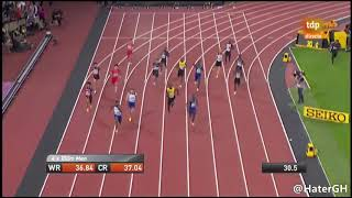 Relay 4x100 Finals IAAF World Championships London 2017 | Full Race