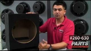 Analyzing Goldwood Speaker Box w/ Bass Box Pro 6