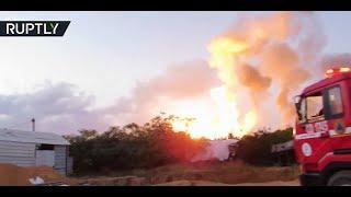 Israeli airstrikes hit north Gaza Strip