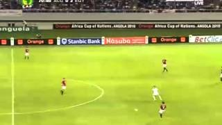 مباراة مصر والجزائر كأس الأمم الإفريقية 2010 الشوط الثاني (( تعليق الشوالي )) جودة عالية