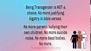 Being Transgender Is Not A Choice