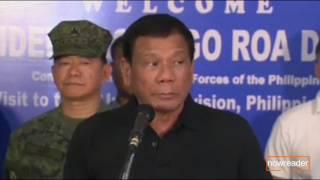 Binanatan muli ni Duterte ang Media, Trillanes, Abad at si PNoy