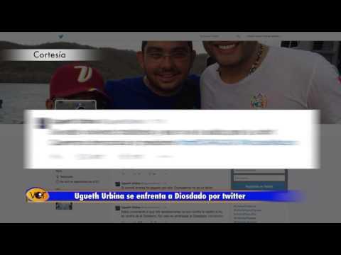 Ugueth Urbina se enfrenta a Diosdado por twitter