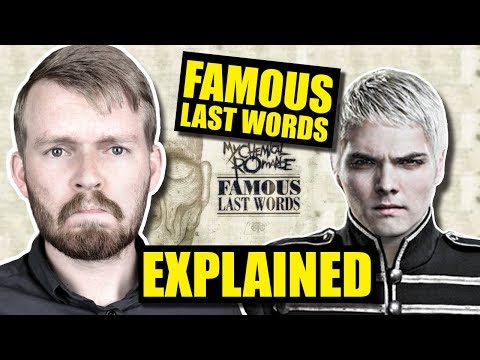 """Famous Last Words"" by MCR Is SO Confusing! 