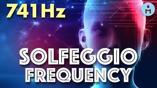 741Hz SOLFEGGIO FREQUENCIES | Extremely Powerful Study Tone (Solving Problems, Studying, Focus)
