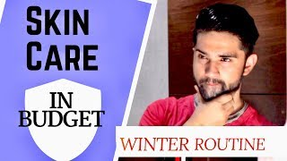 SKIN CARE ROUTINE IN ₹150 | 5 STEPS For WINTER Face Care in Hindi