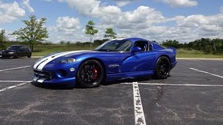 1000 HP 1996 Dodge Viper GTS M2 Twin Turbo & Engine Start Up on My Car Story with Lou Costabile