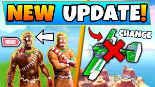 Fortnite Update: *NEW* MERRY MARAUDER VARIANT + Plane Change – 7 New Things in Battle Royale!