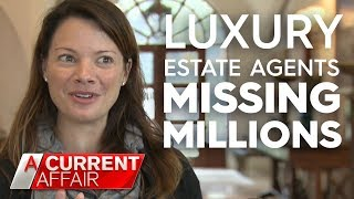 Celebrity real estate agent could face decade in jail | A Current Affair
