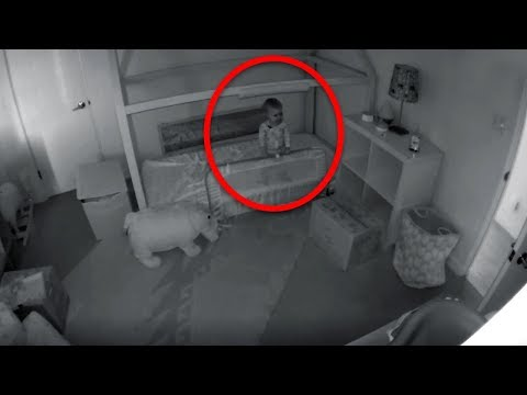 Mom Is Worried How Baby Keeps Disappearing From Crib So She Installs A Security Camera To Find Out