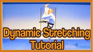 Taekwondo Kicking   Dynamic Stretching Drills (Get High Kicks)   GNT Tutorial