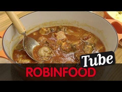 ROBINFOOD Cordero al chilindrón Puré de patata