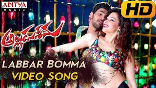 Labbar Bomma Full Video Song - Alludu Seenu Video Songs- Sai Srinivas,Samantha