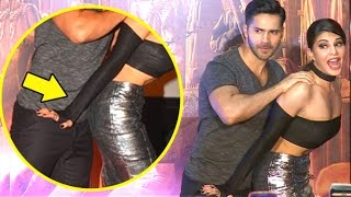 Varun Dhawan's FUNNY Poses With Jacqueline Fernandez In Public