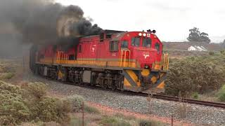 Failed Locomotive - South African Class 35 - GE U15C