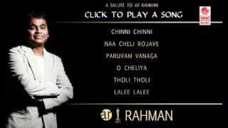 AR Rahman Telugu Hit Songs | Telugu Golden Hit Songs | Jukebox 1