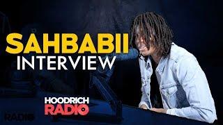 SahBabii Interview w/ DJ Scream on Hoodrich Radio