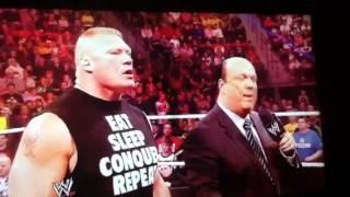 Undertaker vs Brock Lesnar Wrestlemania 30 promo