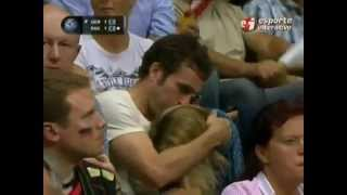 Girl Caught Giving A Blow job On TV During Volleyball Match!