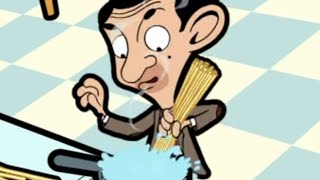 Mr Bean - Cooking spaghetti -- Mr. Bean kocht Spaghetti