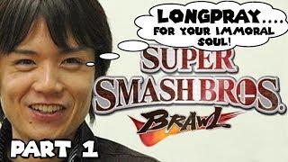 Super Smash Bros Brawl LONGPLAY [1080p 60fps] Part 1: Subspace Emissary & Classic Mode