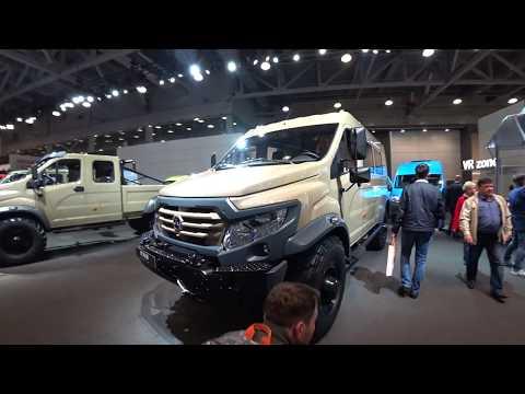Новый ВЕПРЬ NEXT 4wd фургон внедорожник   Комтранс 2017