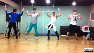 2AM (Miss AM) - Goodbye Baby (dance practice) DVhd