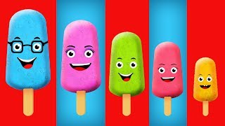 Ice Cream Finger Family Song | Finger Family Song Collection For Children