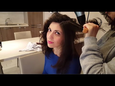 Xxx Mp4 Hair Dryer Relax Sound ASMR Capelli Lisci Con Spazzola E Phon No Talk 3gp Sex