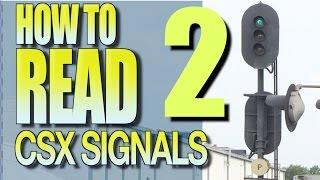 How To Read CSX Signals Part 2