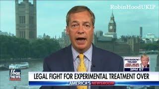 Nigel Farage slams egotistical Great Ormond Street Hospital
