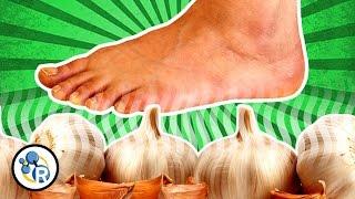 Can you taste garlic... through your FEET!? (Weird Food Tricks #2)