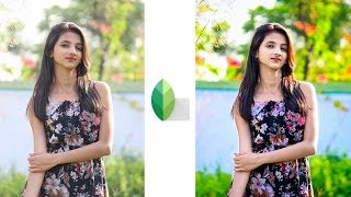 Photo Color Retouching Editing Trick | Snapseed & Lightroom Editing Tutorial | Snapseed Edits