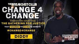 Diddy Donates 100K #Change4Change