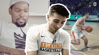 """Jordan McCabe Reacts To KEVIN DURANT Breaking Him Down! """"This Is The Coolest Thing I"""