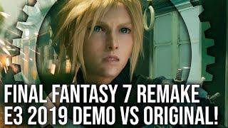 Final Fantasy 7 Remake: E3 2019 Demo vs Original Graphics Comparison!