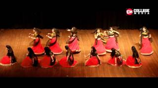 Beautiful classical Deewani Mastani Dance   Engifest 2016   DTU