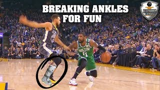 "NBA ""BROKEN ANKLES"" Moments"