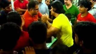 Pakistan armwrestling practice karachi 6 xvid