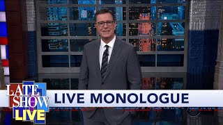 Sparks Fly At Third Dem Debate - Colbert's LIVE Monologue
