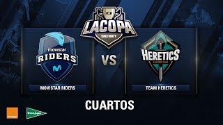 MOVISTAR RIDERS VS PVP HERETICS - Cuartos de Final - Copa CoD - #CoDpaCuartos