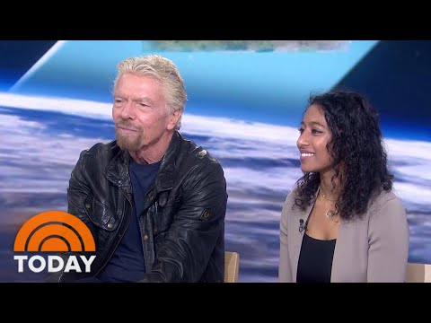Exclusive Richard Branson Talks About His Historic Space Flight
